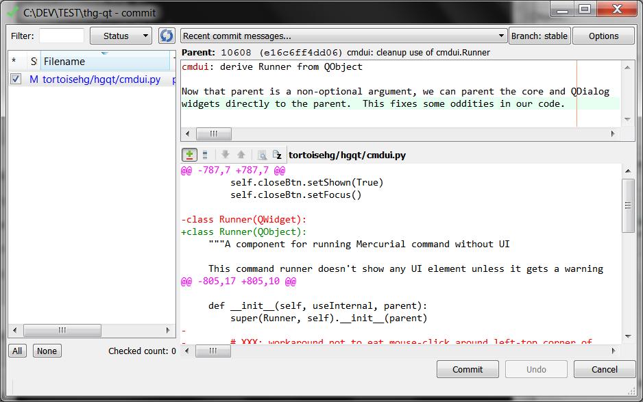 5 7  Commit — TortoiseHg 4 7 0 documentation