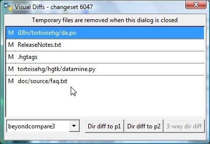 5 1  Common Features — TortoiseHg 4 7 0 documentation